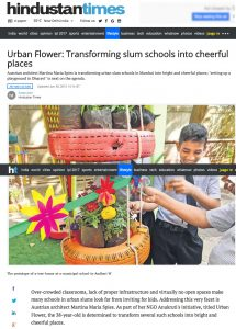 Urban Flower: Transforming slum schools into cheerful places